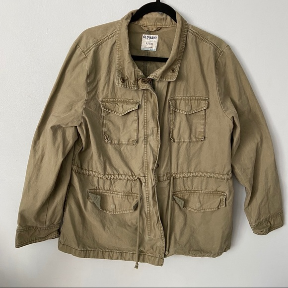 Old Navy Jackets & Blazers - OLD NAVY | Green cargo utility jacket